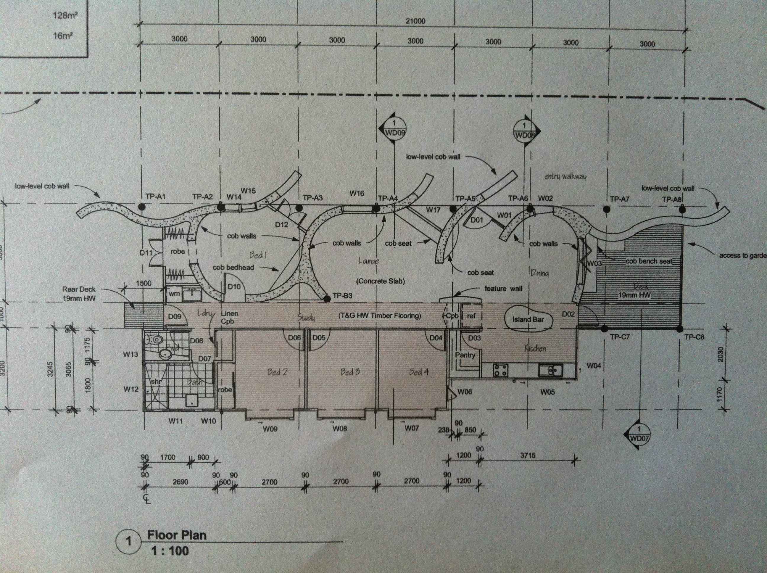 My cob home cobhearthome Birds eye view house plan